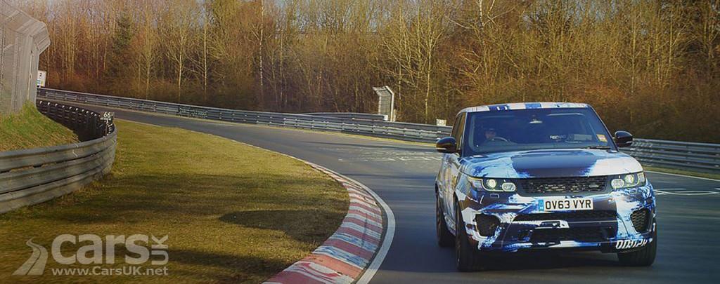 Photo Range Rover Sport SVR Prototype