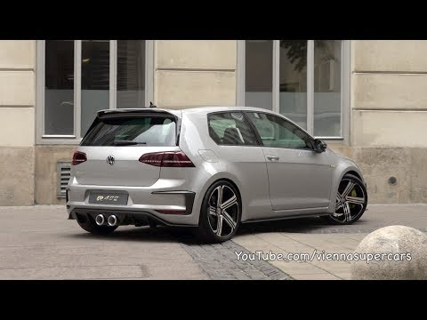 Volkswagen Golf R 400 sounds like it means business (video)
