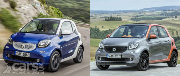 2015 smart fortwo smart forfour revealed cars uk. Black Bedroom Furniture Sets. Home Design Ideas
