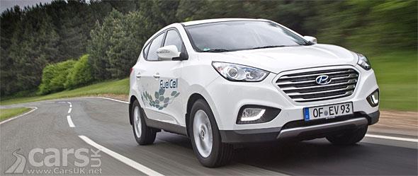 Photo Hyundai ix35 FCEV completes record distance on a tank of hydrogen