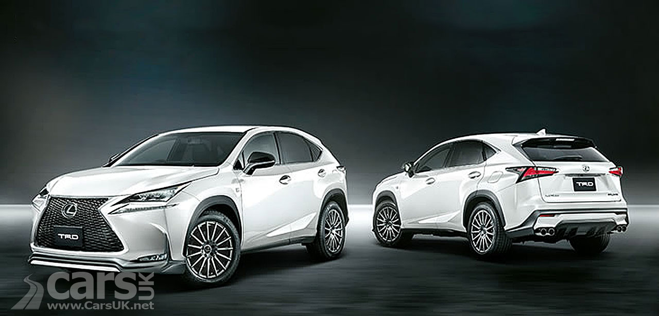 New Lexus NX Compact SUV gets upgrades from Toyota Racing ...