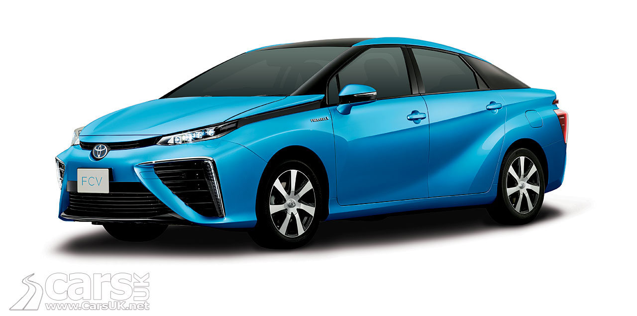 Toyota's production hydrogen car will be the Toyota Mirai