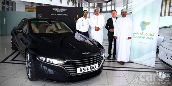 Photo Aston Martin flies the new Lagonda to Muscat with Oman Air