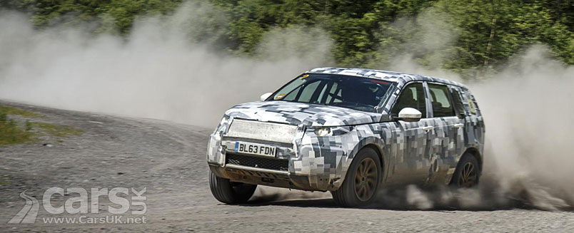 Photo new Land Rover Discovery Sport testing