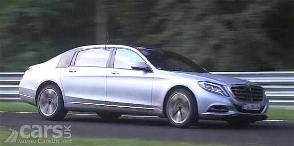 Photo Mercedes S-Class Maybach spied (video)