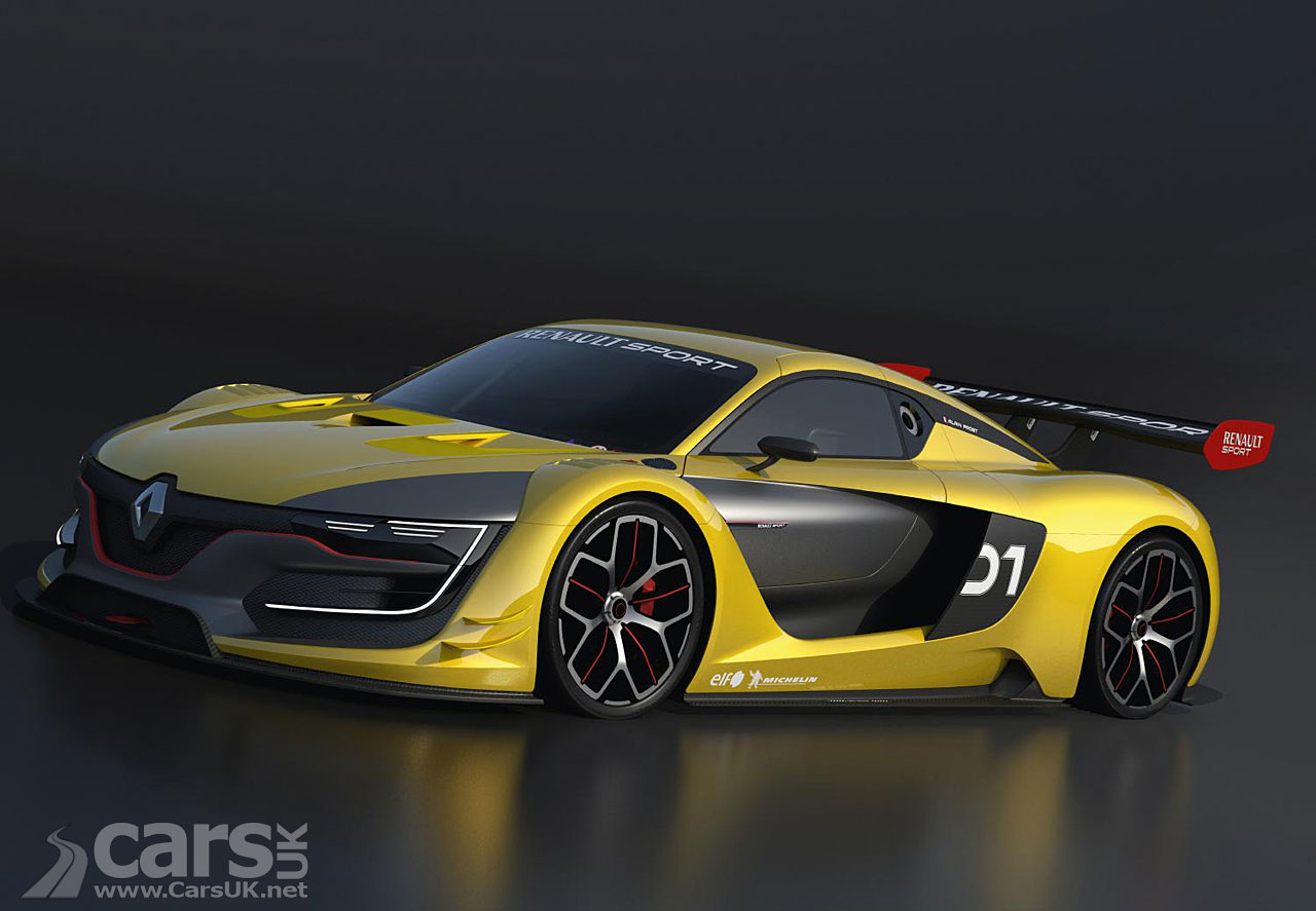 renaultsport r s 01 race car revealed by renault cars uk. Black Bedroom Furniture Sets. Home Design Ideas