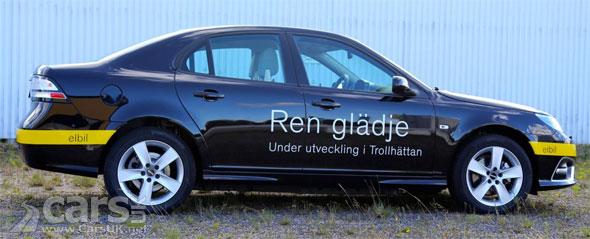 Photo Saab 9-3 EV prototype revealed by NEVS