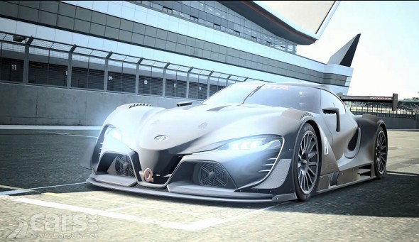 Photo Toyota FT-1 Vision Gran Turismo Concept