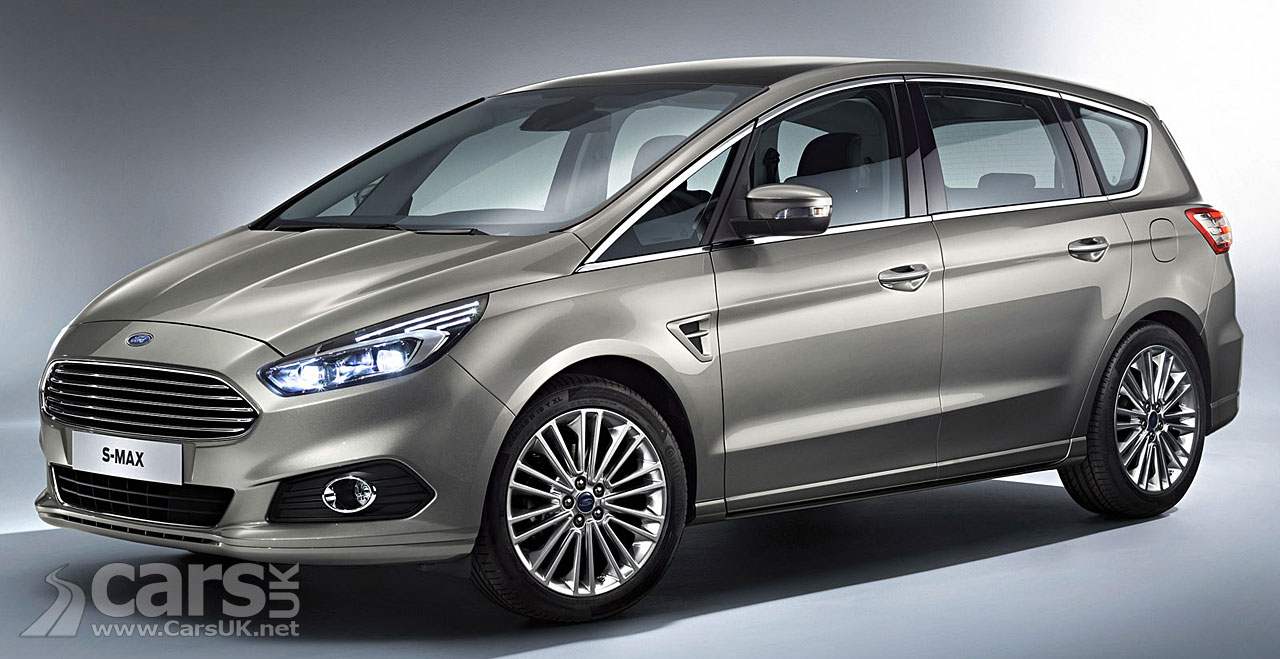 2015 ford s max revealed debuts at 2014 paris motor show. Black Bedroom Furniture Sets. Home Design Ideas