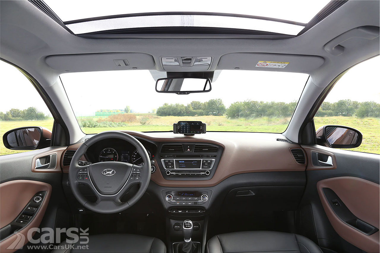 2015 hyundai i20 interior revealed cars uk - Hyundai i20 interior ...