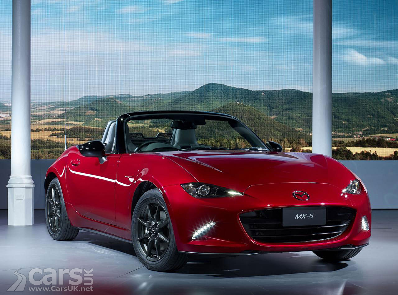 New 2015 Mazda MX-5 revealed