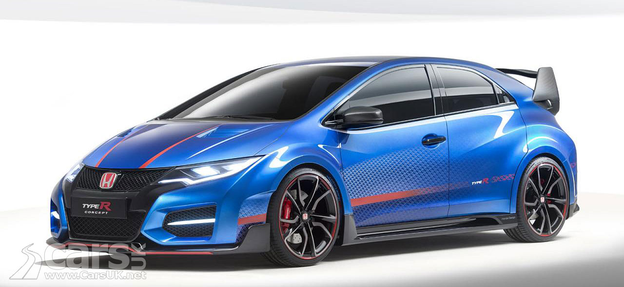 new honda civic type r concept previews production type r. Black Bedroom Furniture Sets. Home Design Ideas