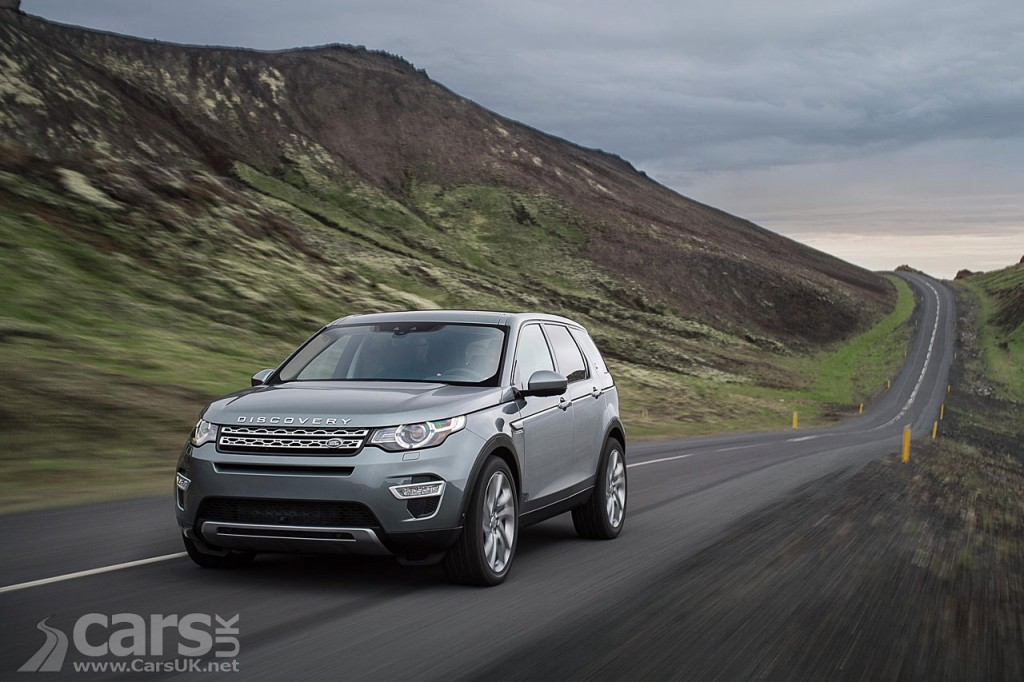 Photo exterior new Land Rover Discovery Sport