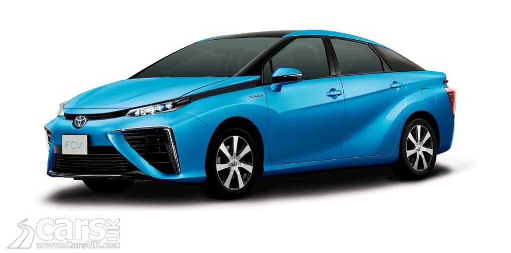 Photo Toyota FCV