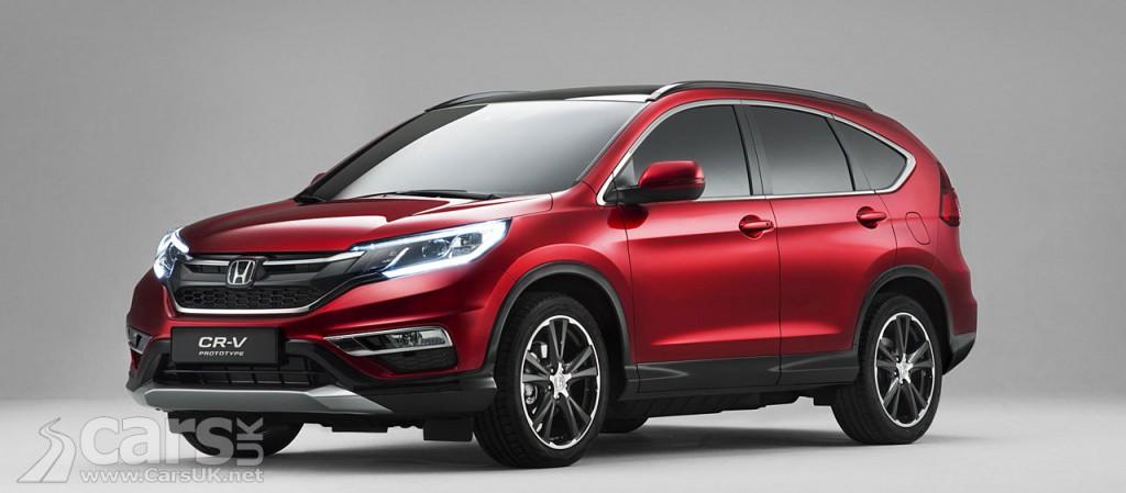 Photo 2015 Honda CR-V Facelift