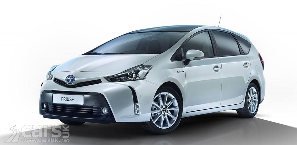 Photo Toyota Prius+ gets a bit of a tweak for 2015