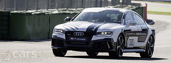 Photo Audi RS7 completes Hockenheim lap without a driver