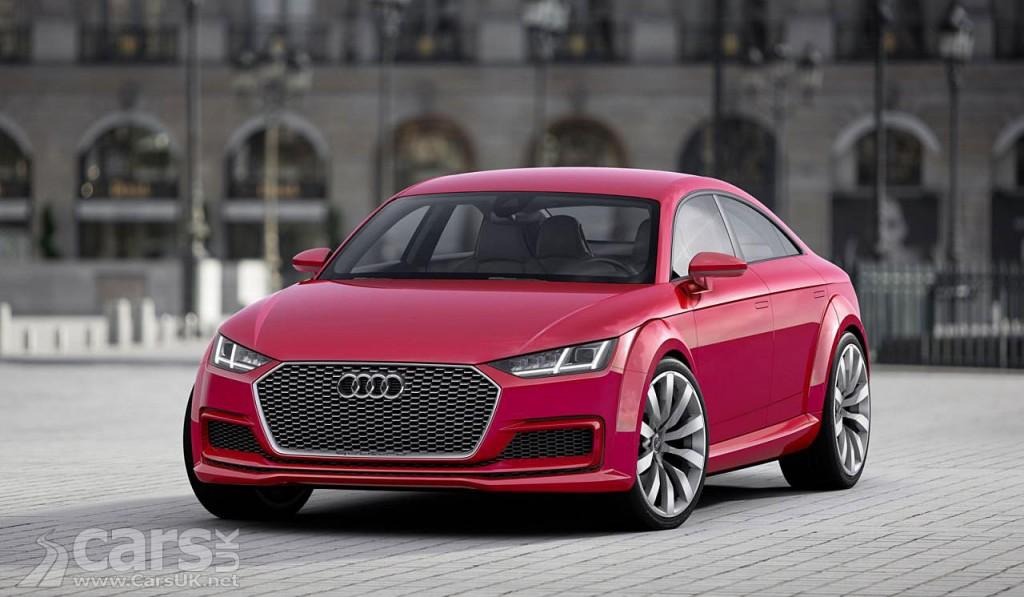 Photo Audi TT Sportback concept