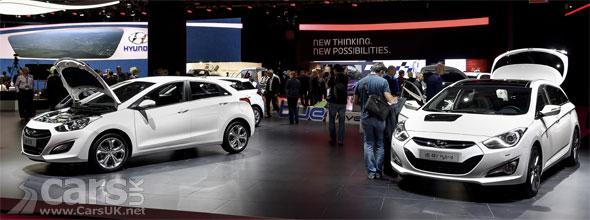 Photo Hyundai i40 Hybrid & i30 CNG