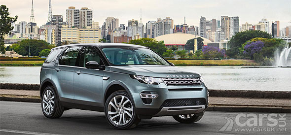 Photo Land Rover Discovery Sport confirmed for Brazil production