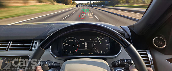 Photo new heads-up display in the 2015 Range Rover & Sport