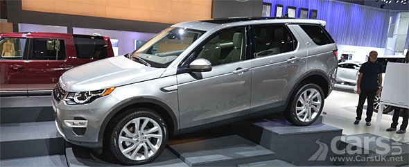 Photo Land Rover Discovery Sport US spec