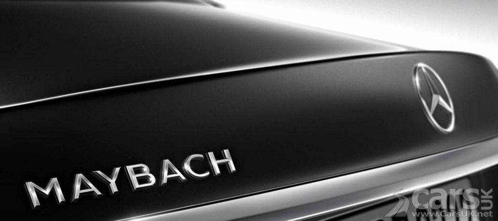 Photo tease Mercedes-Maybach S600
