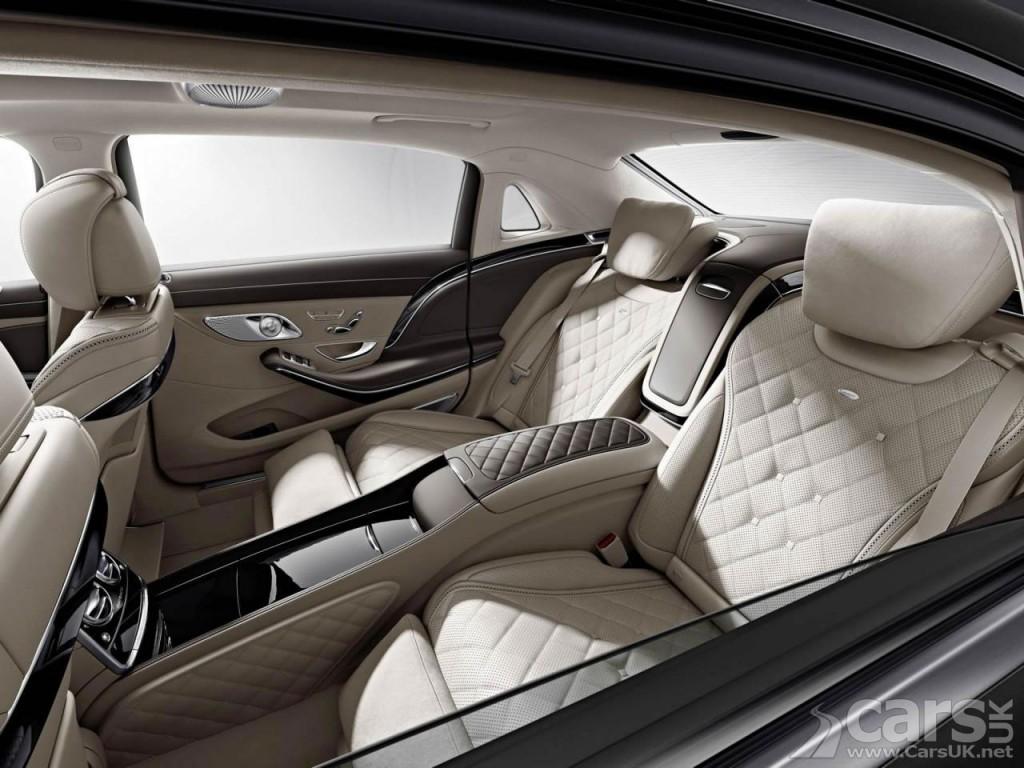 Photo Mercedes-Maybach S600 Interior