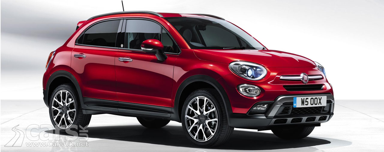 fiat 500x opening edition on sale price from 17 595. Black Bedroom Furniture Sets. Home Design Ideas