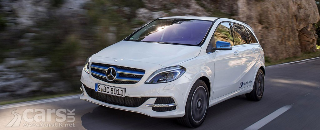 Mercedes B-Class Electric Drive - price from £31,950   Cars UK