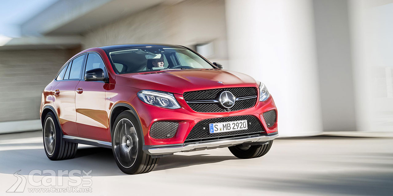 mercedes gle coupe arrives to take on the bmw x6 cars uk. Black Bedroom Furniture Sets. Home Design Ideas