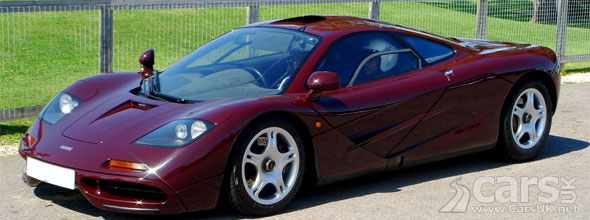 Photo Rowan Atkinson selling his McLaren F1