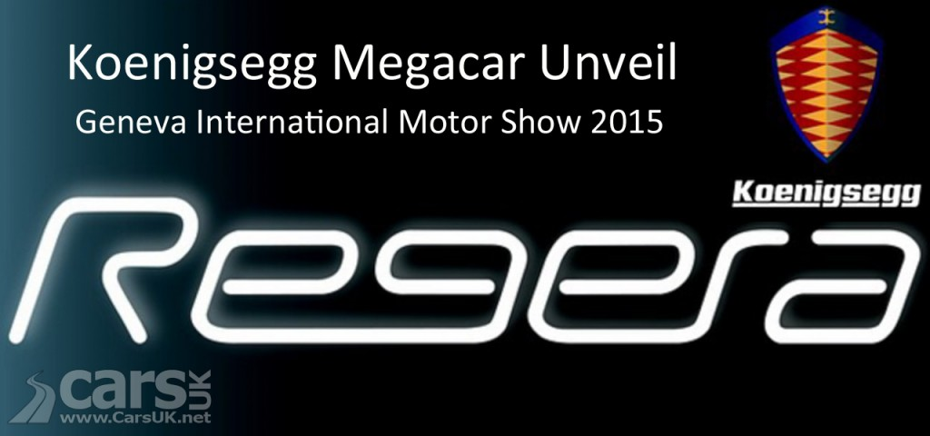 Photo Koenigsegg Regera MEGACAR tease