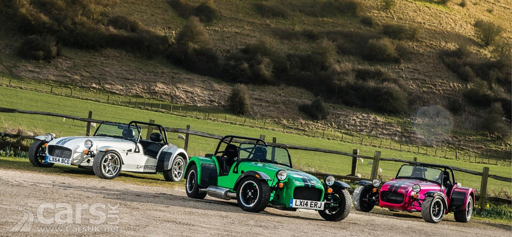 Photo New Caterham 270, 360 and 420
