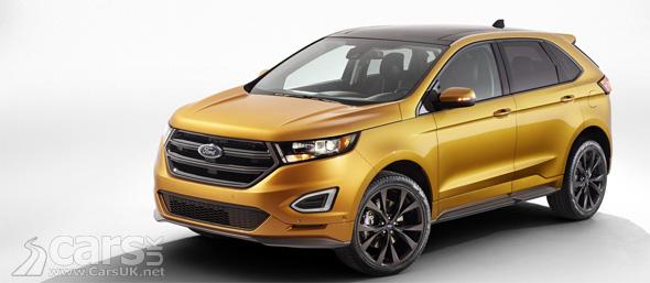 Photo Ford Edge Sport SUV Geneva