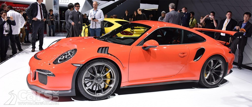 Photo Porsche 911 GT3 RS Geneva