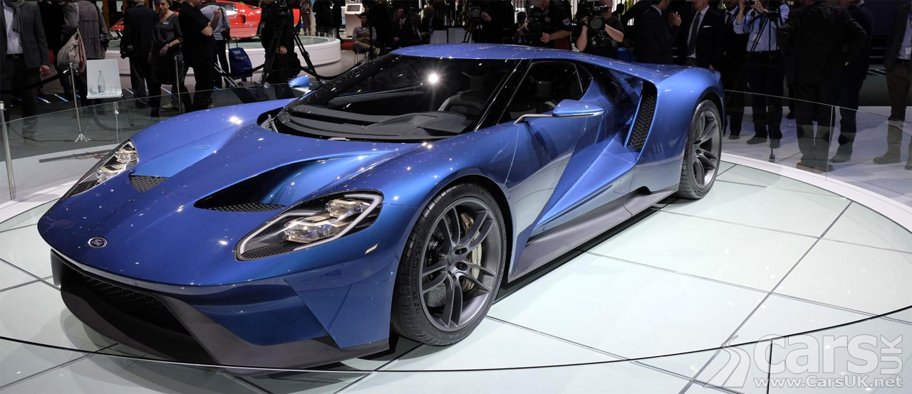 2016 Ford GT set to cost £250,000