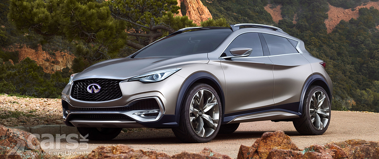 Infiniti Qx30 Compact Suv Official Cars Uk