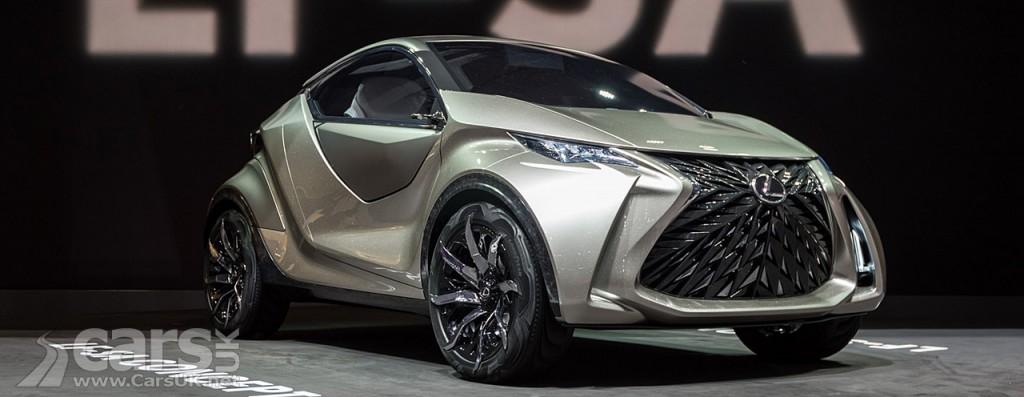 Photo Lexus LF-SA Concept Geneva
