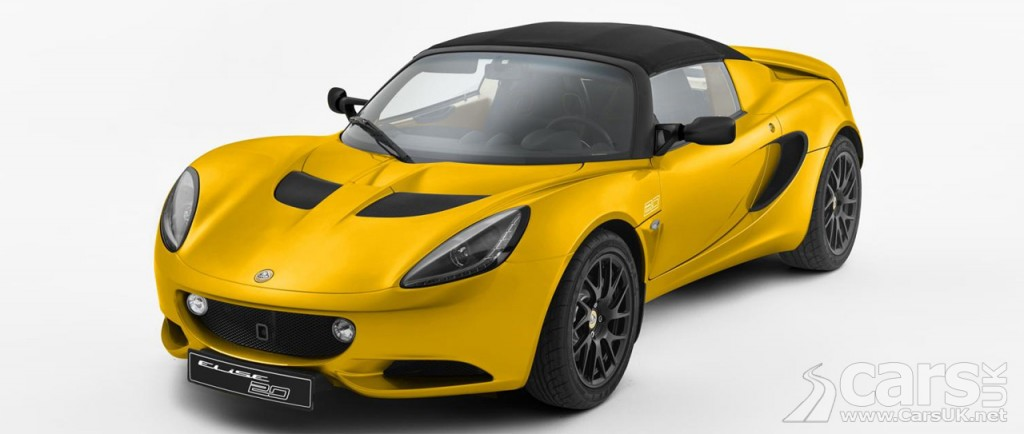 lotus elise 20th anniversary special edition. Black Bedroom Furniture Sets. Home Design Ideas