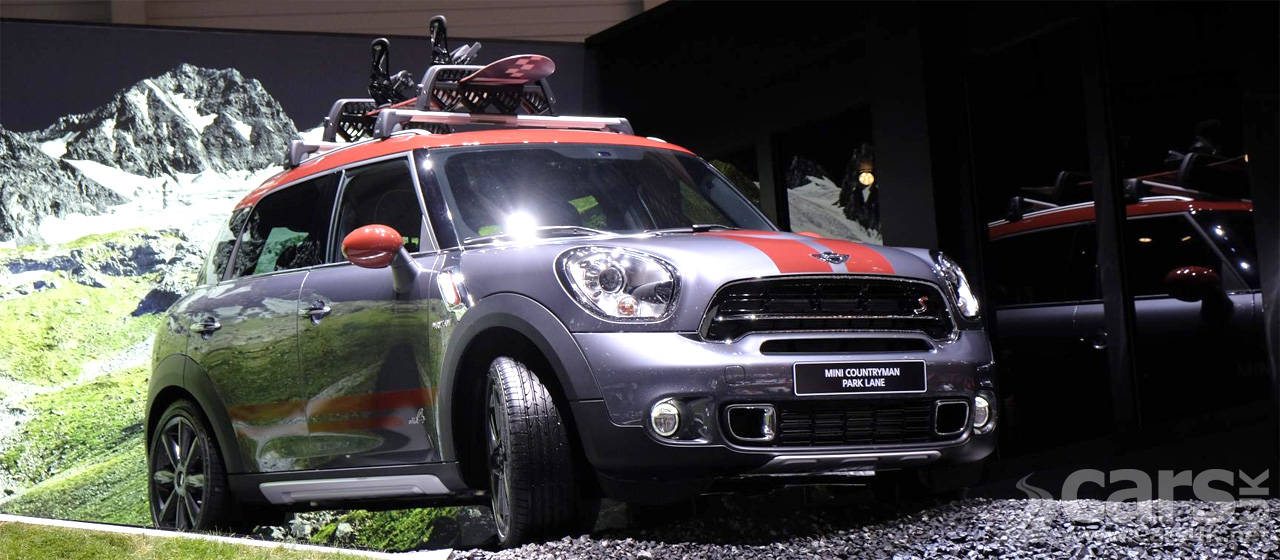 mini countryman park lane special edition geneva 2015 cars uk. Black Bedroom Furniture Sets. Home Design Ideas