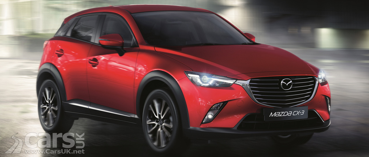 new mazda cx 3 price spec costs from 17 595 cars uk. Black Bedroom Furniture Sets. Home Design Ideas