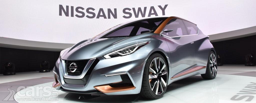 Photo Nissan Sway Concept Geneva