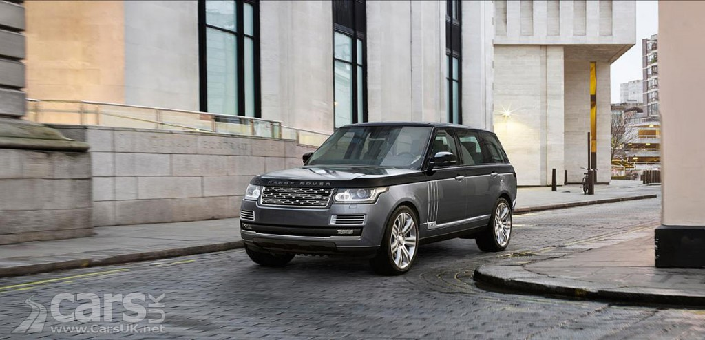 Range Rover SVAutobiography revealed - costs from £148,900