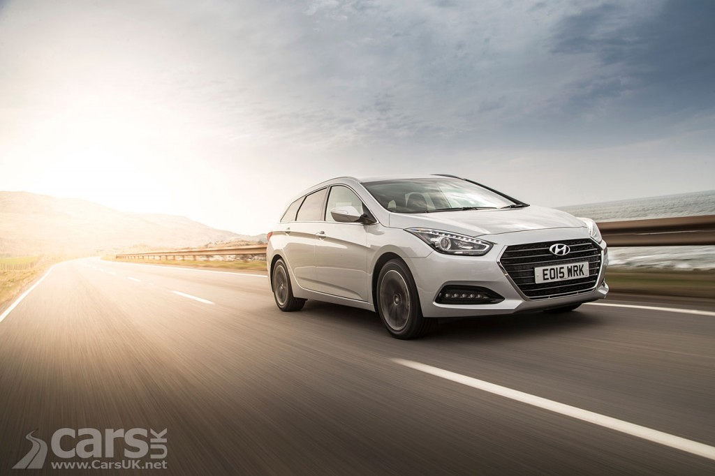Hyundai's facelifted i40 gets priced - costs from £19,600