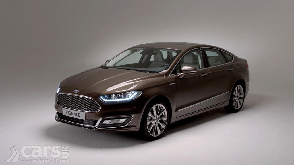 Ford reveals the production version of the Mondeo Vignale