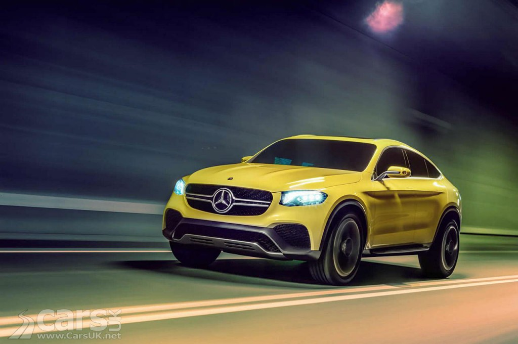 Mercedes unveils the Concept GLC Coupe ahead of a Shanghai debut
