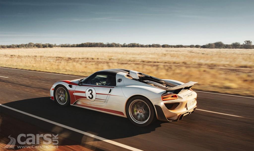 Porsche 918 Spyder hits 217mph on public roads