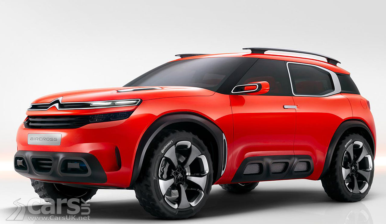 citroen aircross concept 2015 revealed. Black Bedroom Furniture Sets. Home Design Ideas