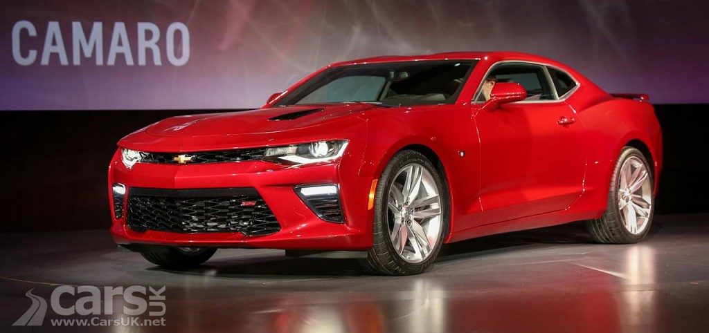 New 2016 Chevrolet Camaro revealed